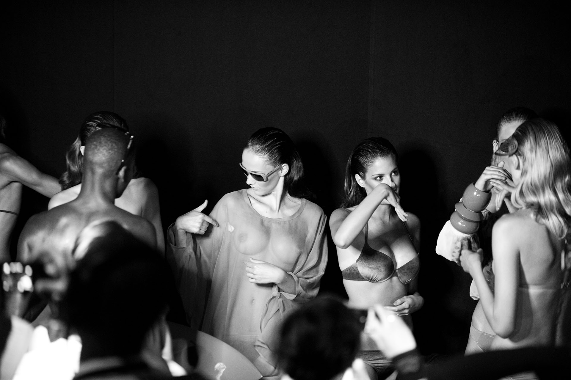 Models, Backstage